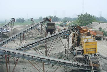 朝鲜时产120吨破碎制砂生产线